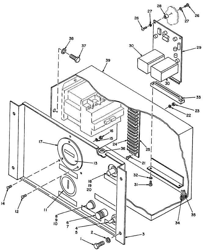 figure 3  control panel  wiring harness