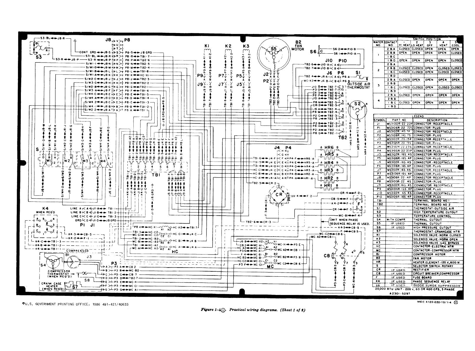 TM 5 4120 222 140093im pdf] version trane baystat 150a pdf (28 pages) trane baystat 150 trane baysens019b thermostat wiring diagram at alyssarenee.co