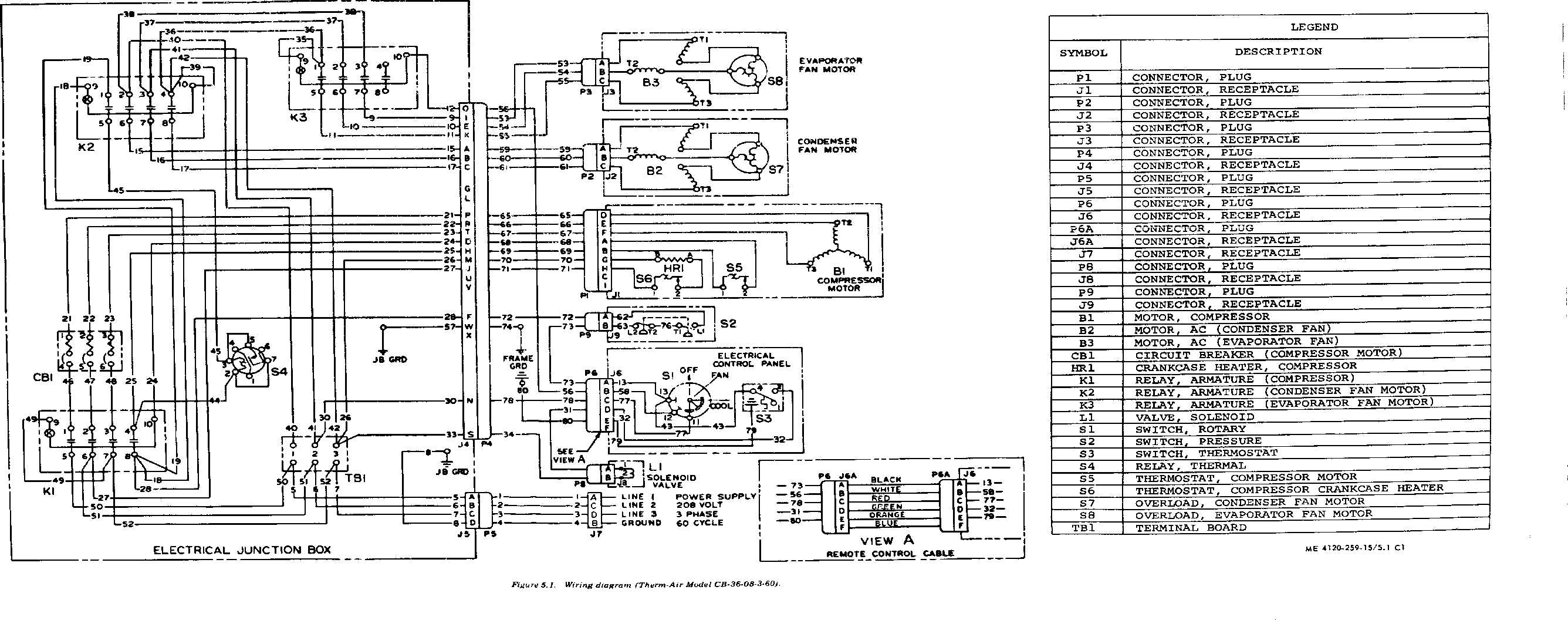 Wiring Diagram For 5 Ton Hvac Schematics Diagrams Home Air Conditioner Get Free Image Impala