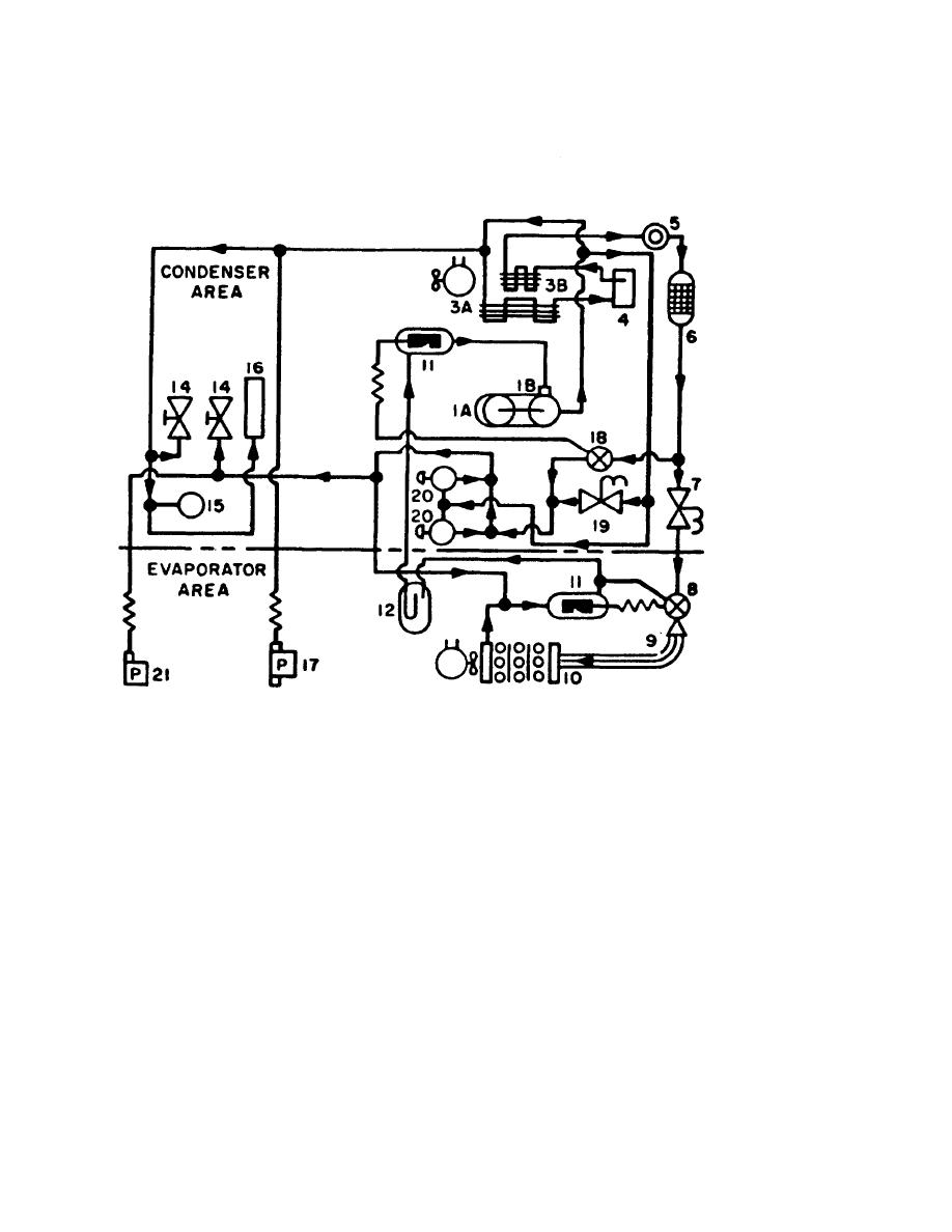 Dismantling and assembling heater and air conditioner unit quot climatronicquot in addition 5elxm A C Orfice Tube 1990 F150 Truck besides Heat Pump Refrigeration Diagram moreover C3VwZXJoZWF0LWFuZC1zdWJjb29saW5nLWNoYXJ0 together with 6zmsh 2000 Jeep Grand Cherokee 4x4 4 7 V8 Engine. on refrigerant air conditioner