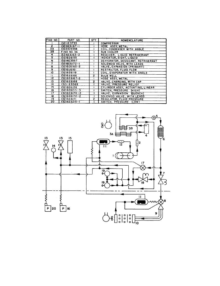 figure 1-3  refrigeration schematic