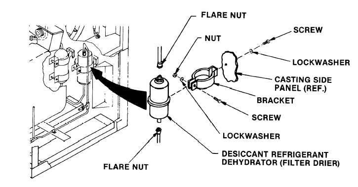 desiccant refrigerant dehydrator  filter drier